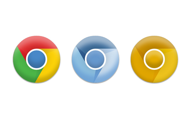 icons browser google chrome chromium canary