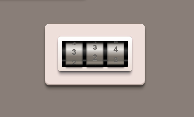 passcode icon animated effect css3