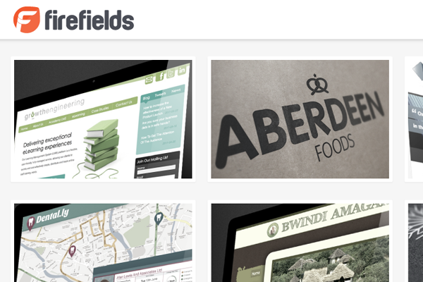firefields rob sutcliffe website portfolio