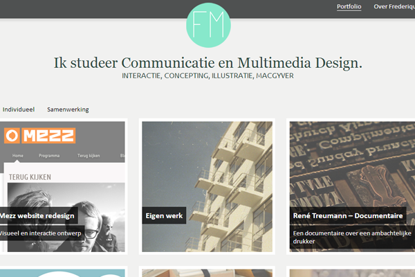 frederique matti portfolio netherlands website