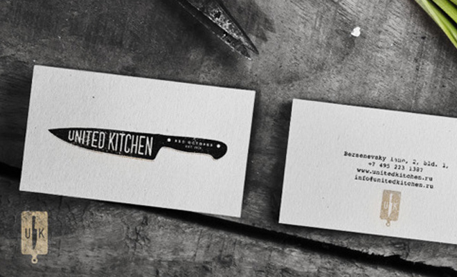 united kitchen print design cards work inspiration