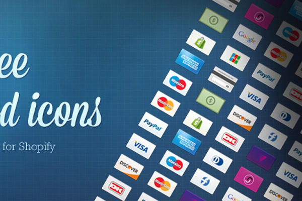 shopify freebie 32 credit cards iconset