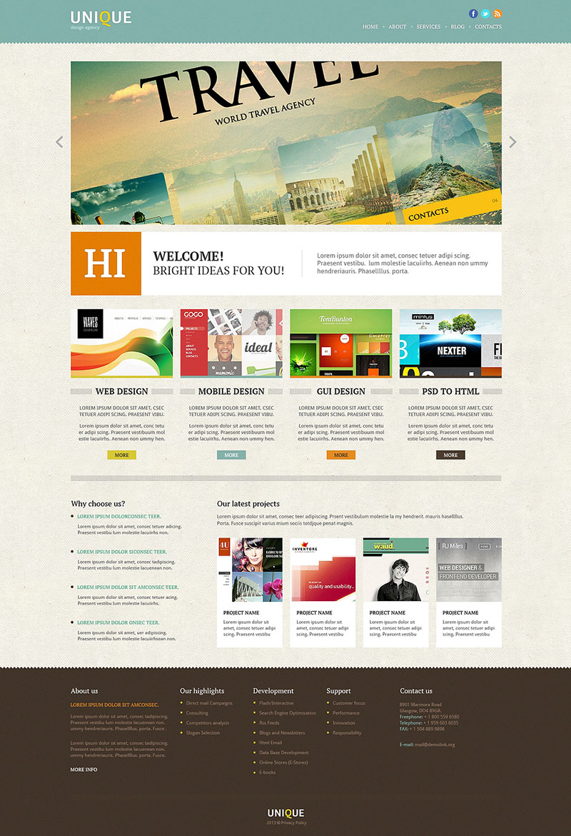 Design Department Joomla Template