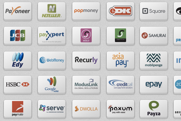 75 payment icons service providers freebie