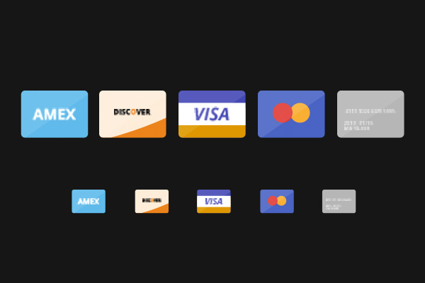 flat slim credit cards freebie