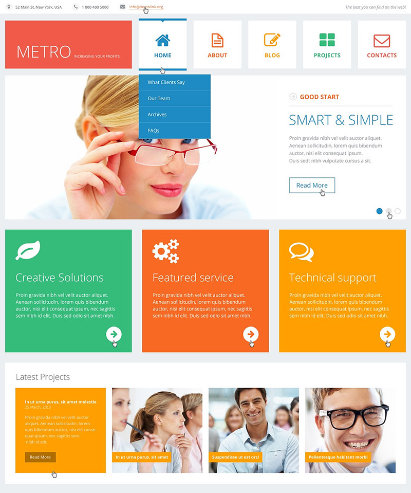 Bright Consulting WordPress Theme
