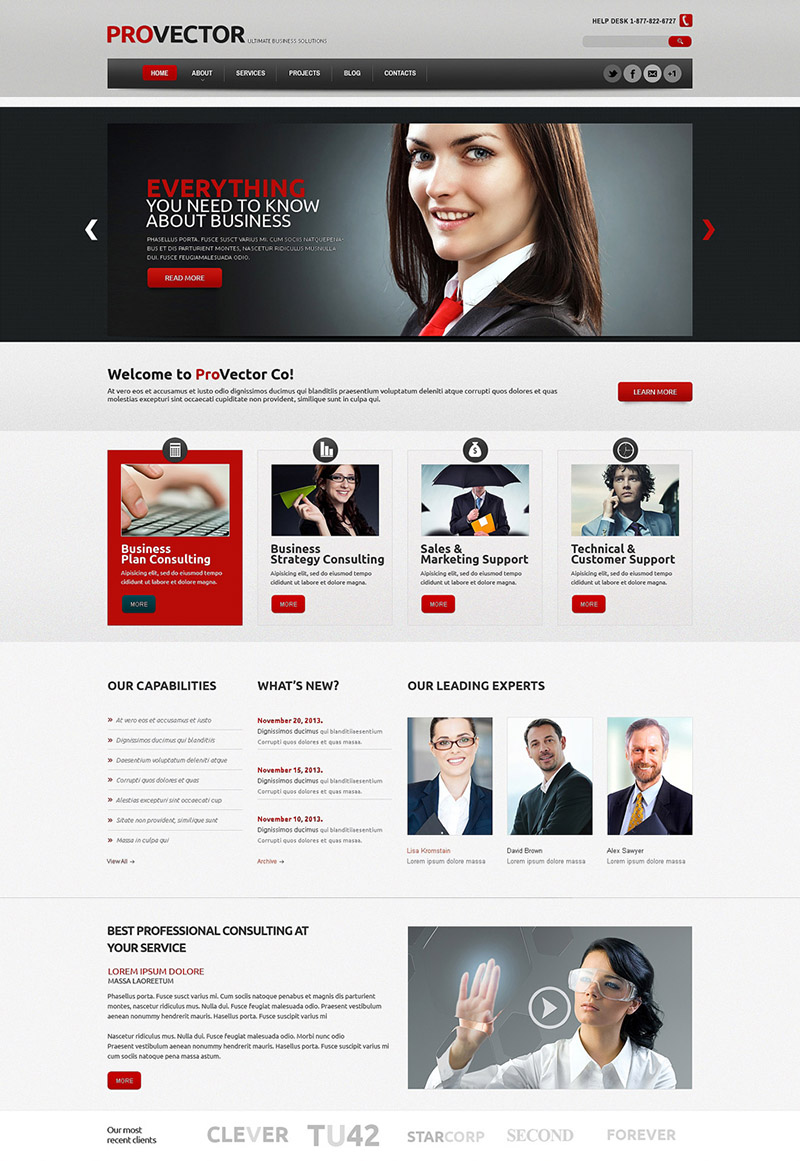 Your Financial Advisor WordPress Theme