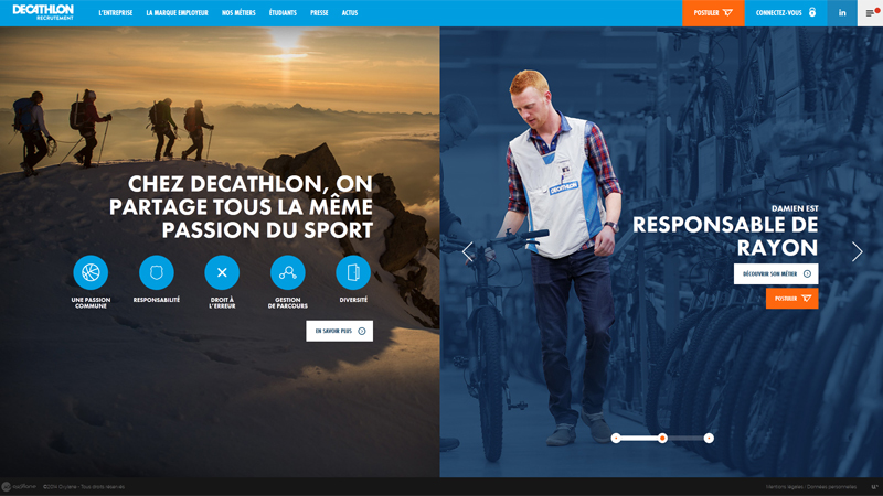 Decathlon Recrutement