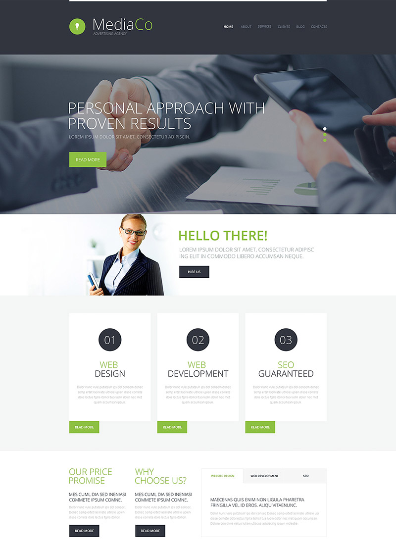 Best Ads Agency WordPress Theme