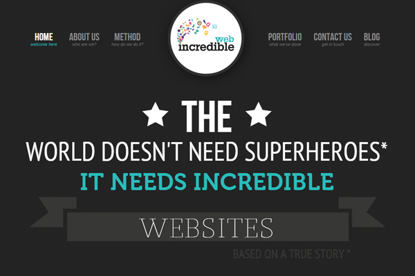 dark studio agency incredible web design