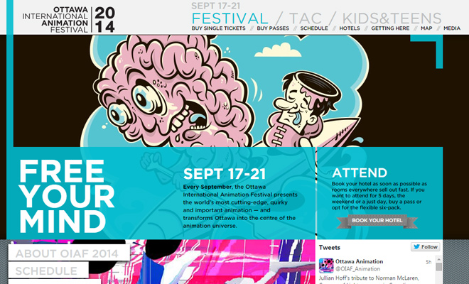 ottawa canada animation festival website