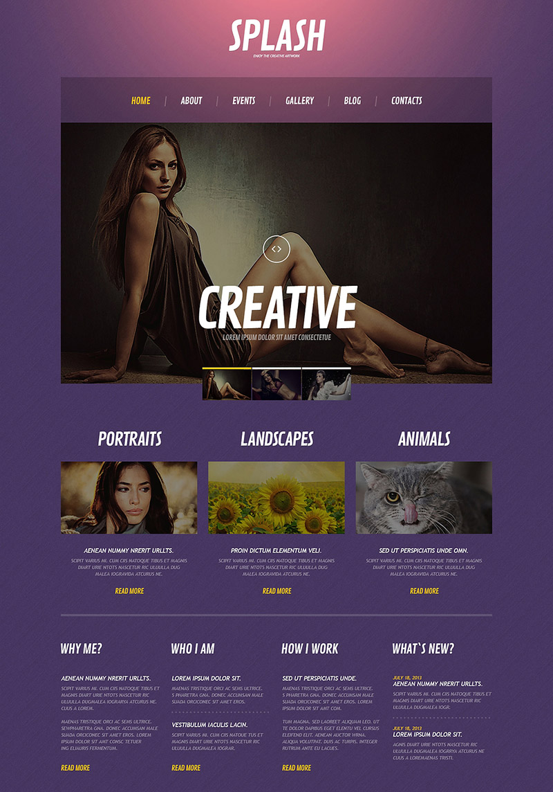 Creative Photography Site