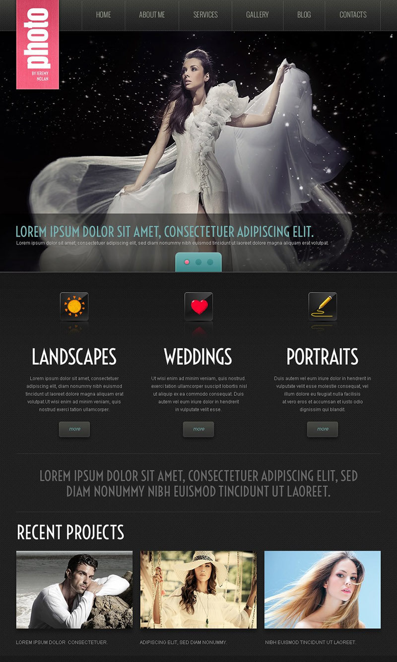 Wedding Photography Site
