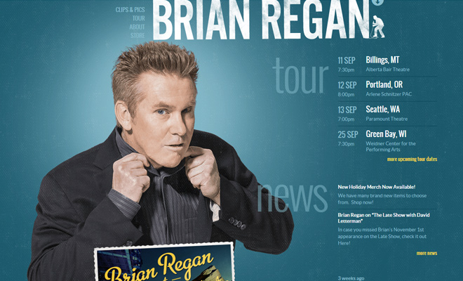 brian regan stand up comedian website