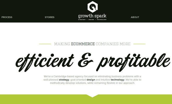 growth spark digital strategy creative agency