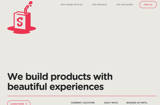 simple as milk creative studio website