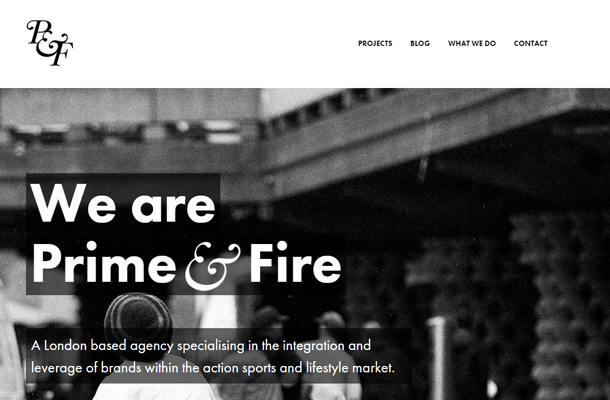prime and fire creative agency