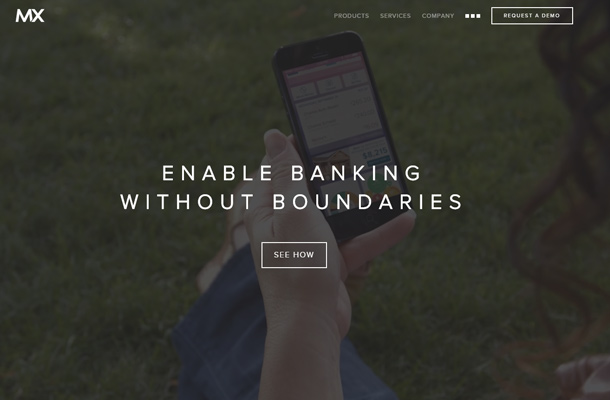 mx omnichannel banking technology website homepage