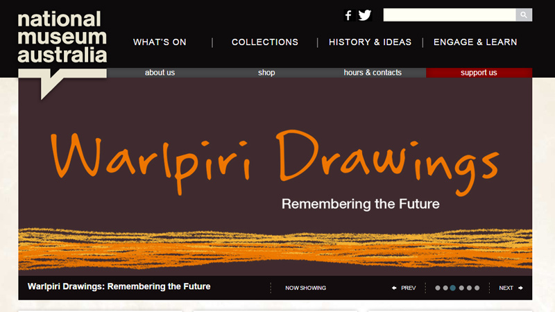 museum of australia website