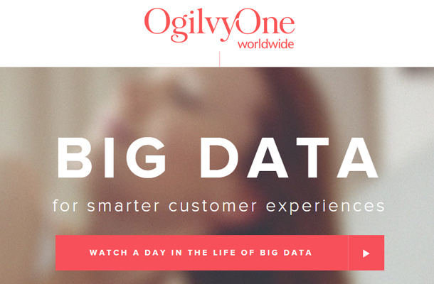 ogilvy one big data website