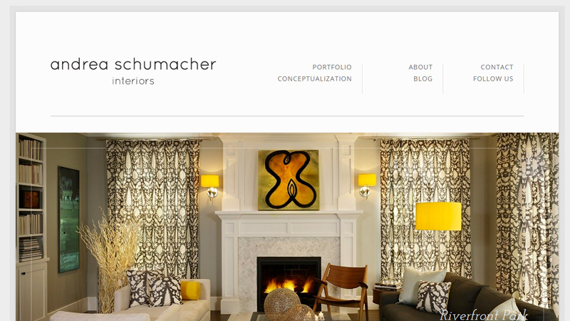 andrea schumacher interior design agency