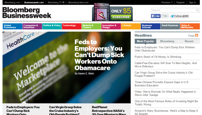 bloomberg businessweek website magazine online