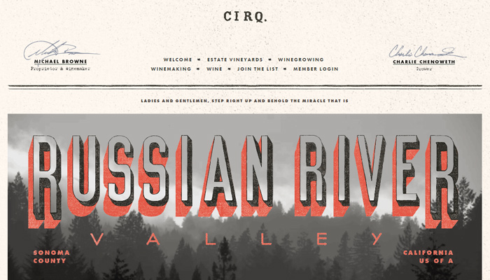 cirq russian river valley pinot noir winery