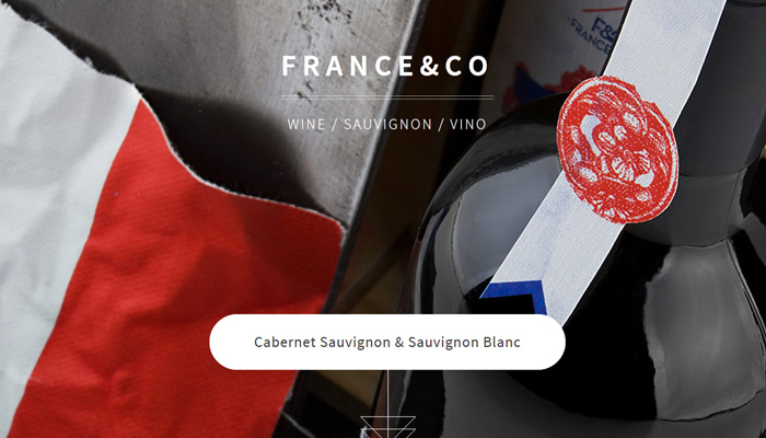 france and company wine winery website
