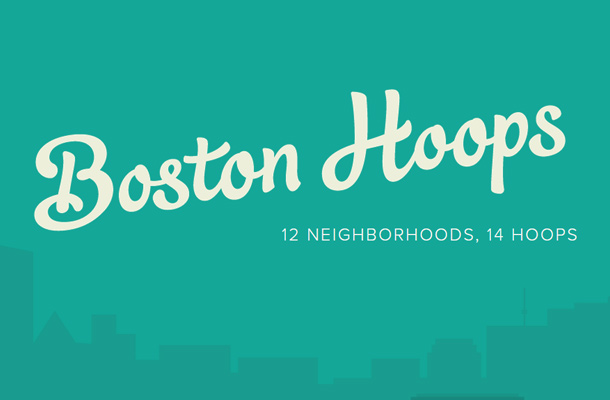 basketball boston hoops project website