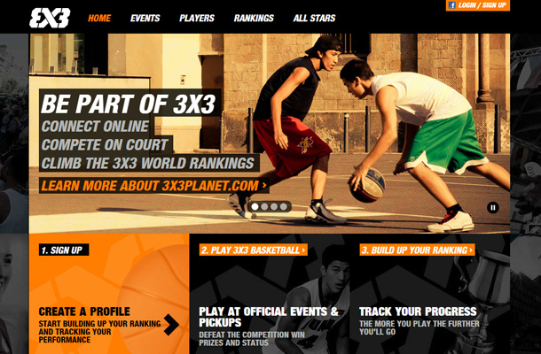 3x3 planet basketball custom sports website