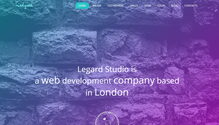 ledgard wordpress clean responsive design