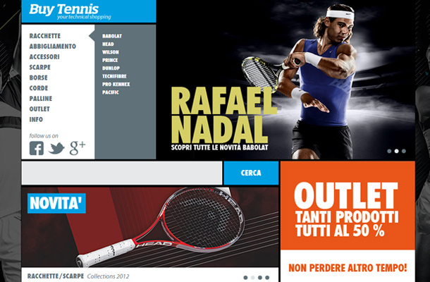 buy tennis website custom shop online store