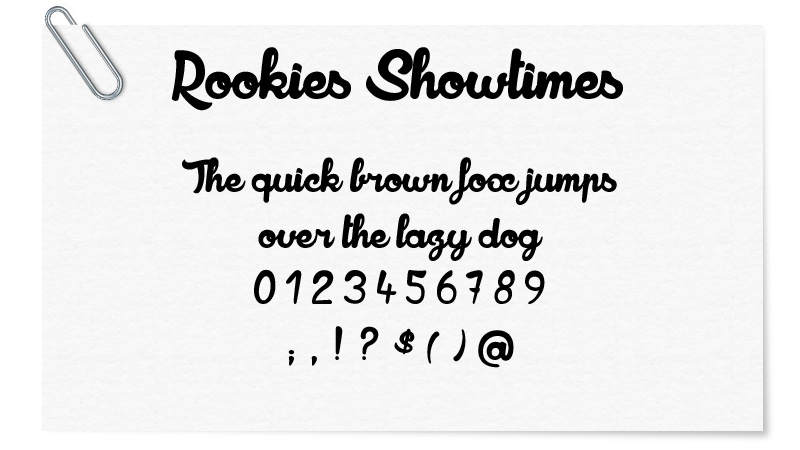 Rookies Showtimes