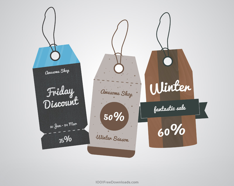 Sale Labels Tags