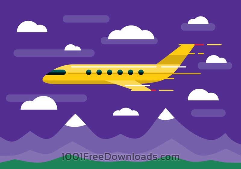 Transport Objects Vector Illustration
