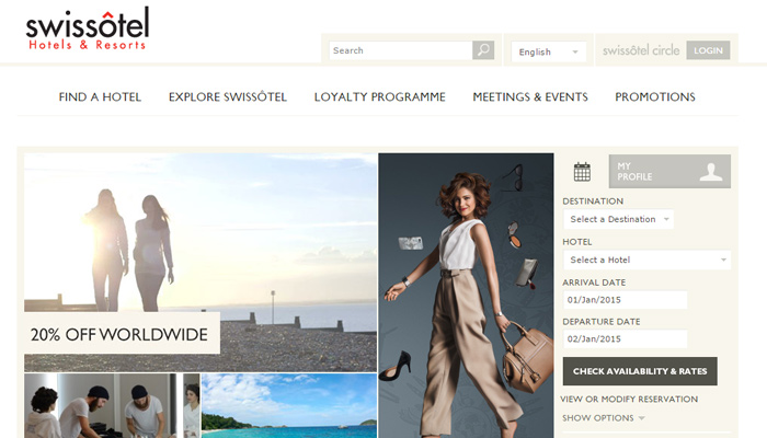 swissotel hotel luxury resort website