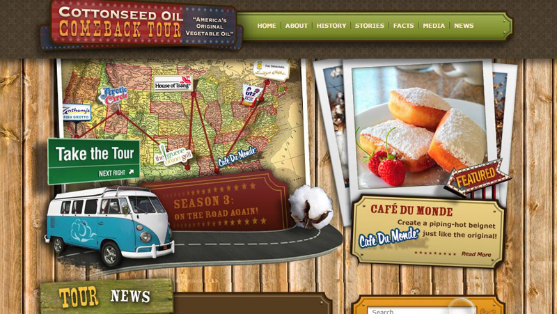 Cottonseed Oil Tour