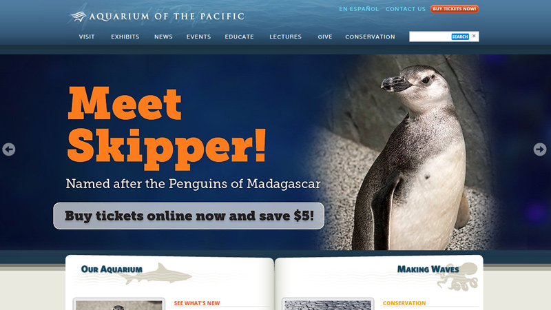 aquarium of the pacific ocean website