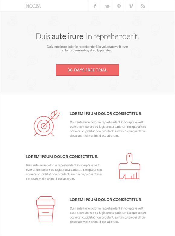 20 Awesome Free Email Templates to Download