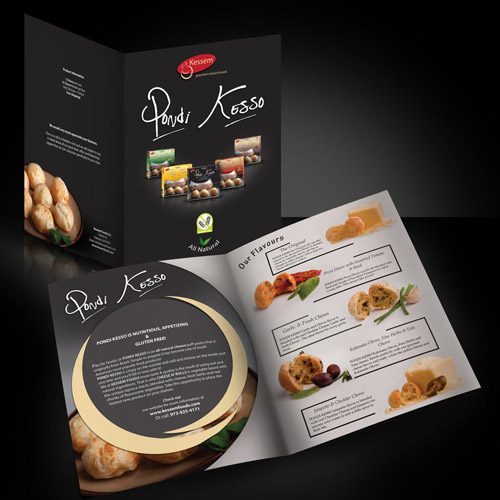 enticing brochure design