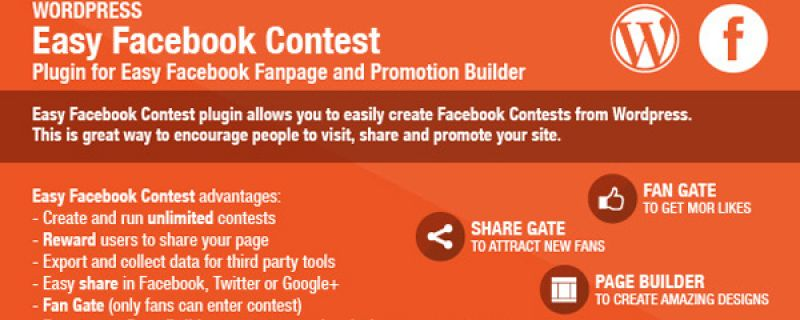 Creare contest per Facebook integrati con WordPress