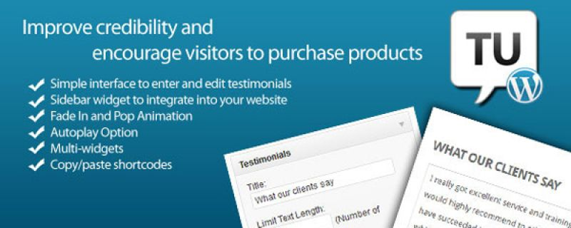 Mostrare referenze su sito WordPress con Testimonials Ultimate