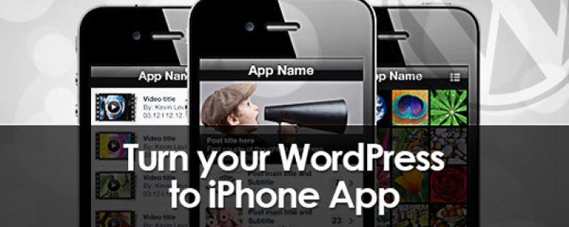 iPhone app per il vostro blog WordPress: come crearla con Wiziapp