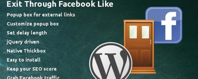 iLike di Facebook su siti WordPress in finestre di popup