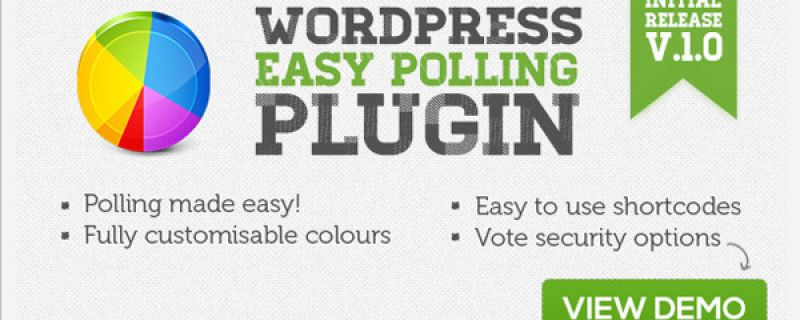 Plugin wordpress per gestione sondaggi: Easy Polling