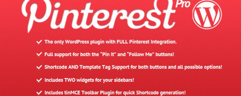Come integrare Pinterest su WordPress: Pinterest Pro plugin