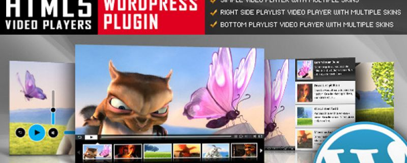 Lettore video per siti WordPress: HTML5 Video Player plugin