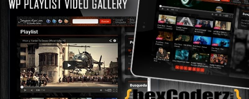 Gallerie video e playlist con wordpress
