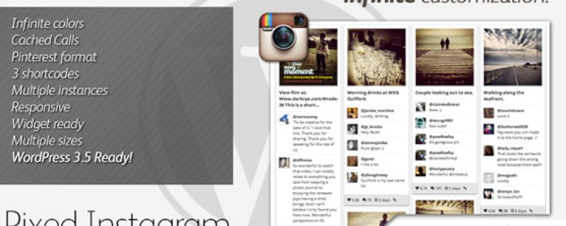 Galleria di immagini da Instagram grazie a plugin WordPress