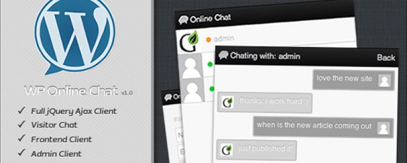 Creare finestre di live chat in WordPress con plugin in Ajax